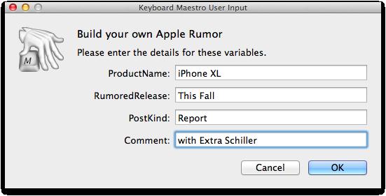 Apple Rumors Yeah